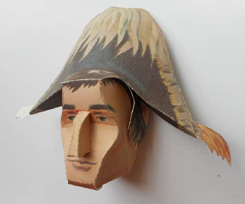 1966 Cornflakes Heads of Fame No 9 Napoleon made (3)