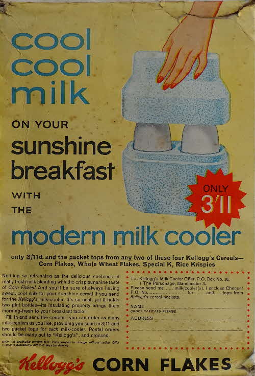 1962 Cornflakes  Milk Cooler (1)