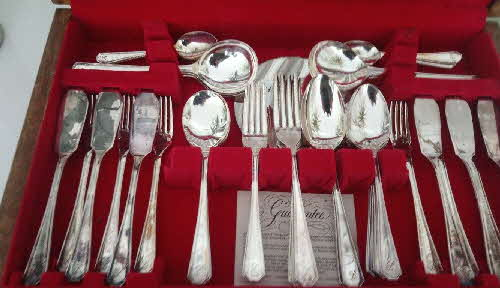 1958 Cornflakes canteen cutlery set 3