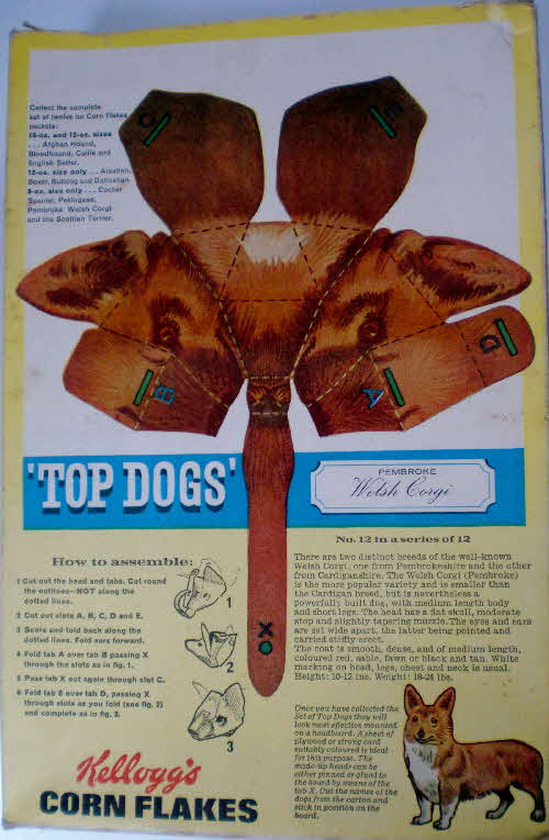 1964 Cornflakes Top Dog Head (1)