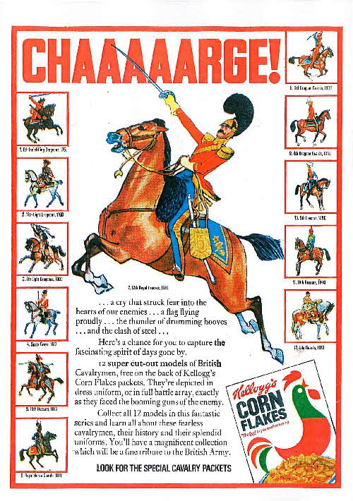1970 Corn Flakes British Cavalry