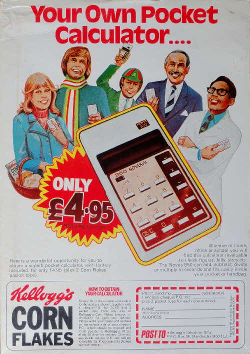 1976 Cornflakes Pocket Calculator (2)