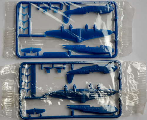 1985 Cornflakes Airliner Model Kits - variations mint Flying Boat