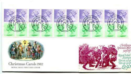 1982 Cornflakes Xmas stamps (betr)
