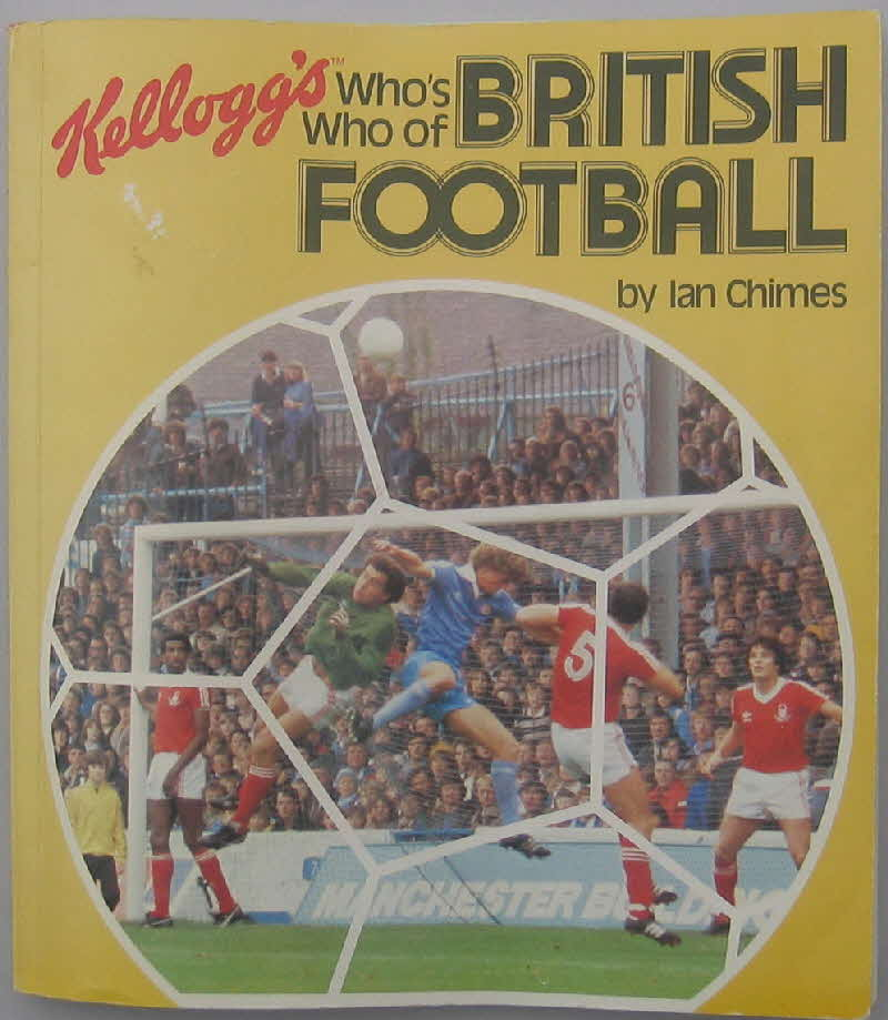 1981 Cornflakes Who's Who of British Footballers
