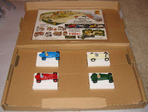 1993 Cornflakes Brookland Classic Racers vehicles
