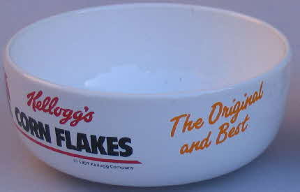 1991 Cornflakes Cereal Bowls1