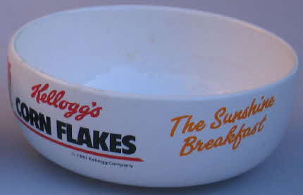 1991 Cornflakes Cereal Bowls2
