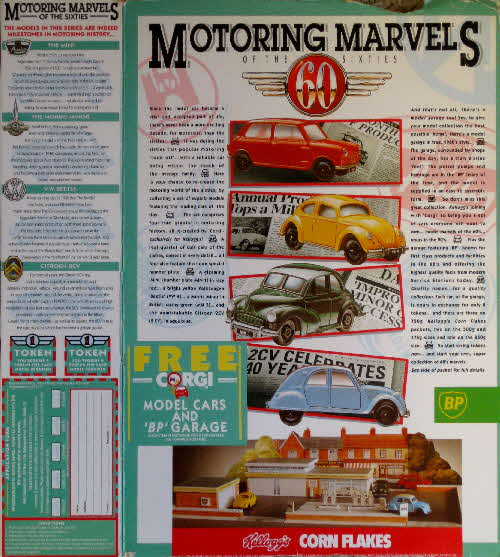 1991 Cornflakes Motoring Marvels of the 60s
