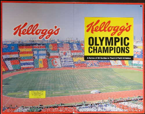 1992 Cornflakes Olympic Champion Fact cards folder (2)