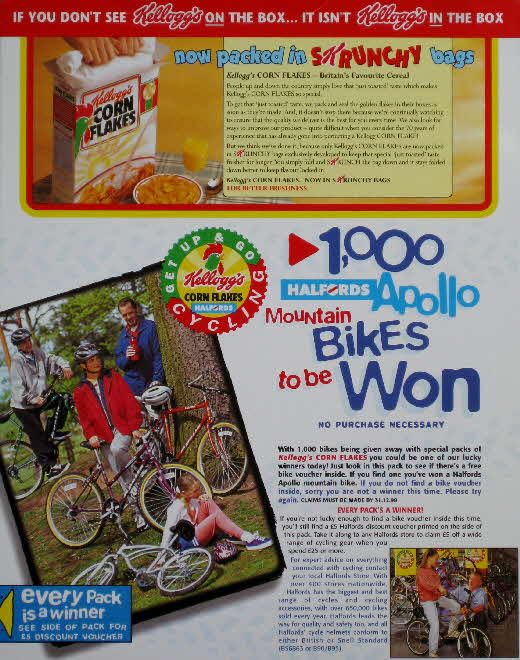 1997 Cornflakes Halford Mountain Bike competition