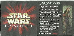 1999 Coco Pops Star Wars Phantom Menace Statuettes card insert (2)