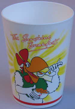 1999 Cornflakes Wake up Collection - beaker