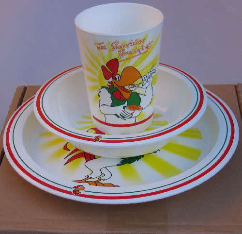 1999 Cornflakes Wake up Collection - breakfast set