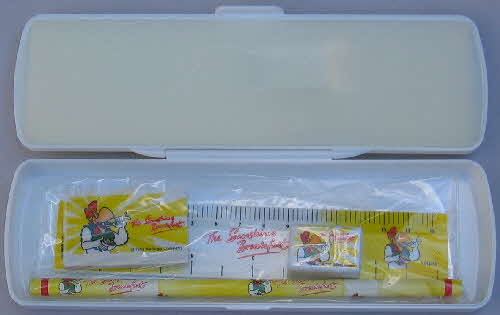 1999 Cornflakes Wake up Collection  pencil case set (1)