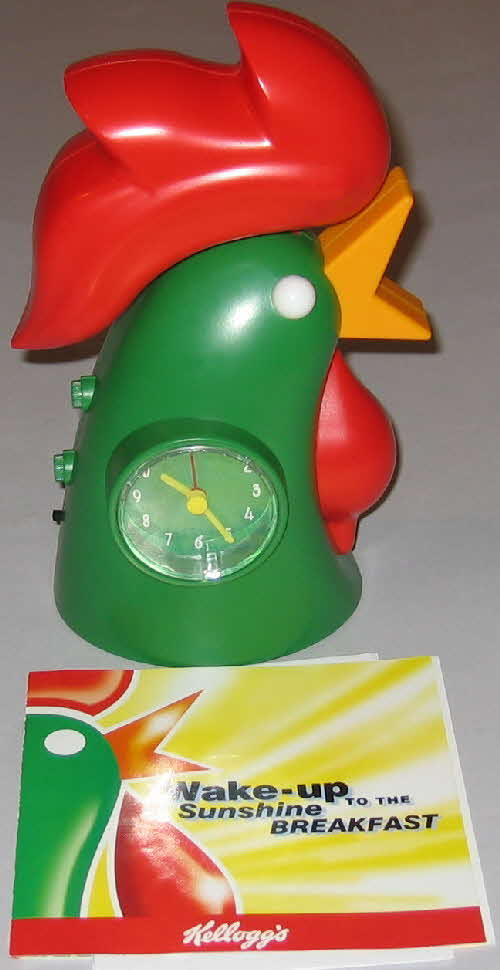 1999 Cornflakes Wake up Collection clock
