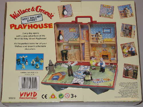 1997 Rice Krispies Wallace & Grommit figures Playset