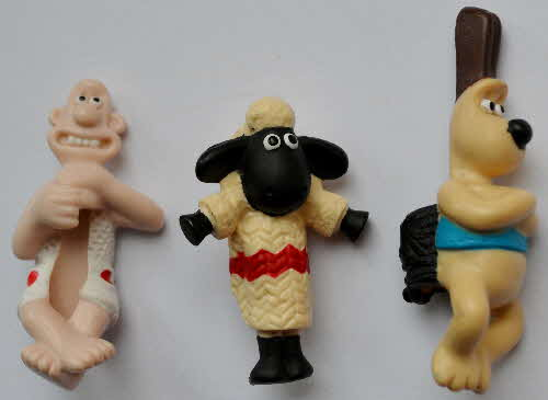 1998 Cornflakes Wallace & Grommit Pencil Toppers (1)