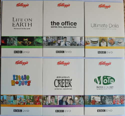2004 Kelloggs Promotional BBC DVDs (2)