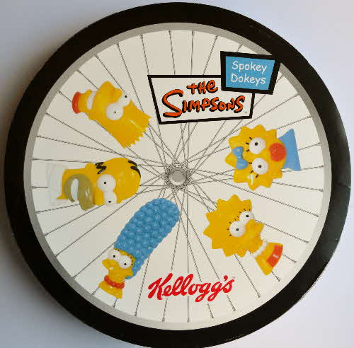 2004 Kelloggs Promotional Simpsons Spokey Dokeys (1)