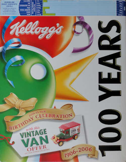 2006 Cornflakes 100th Anniversary of Breakfast - Van offer  (1)