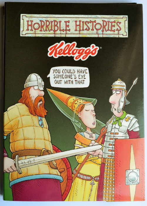 2005 Kelloggs Promotional Horrible History Audio Books (1)