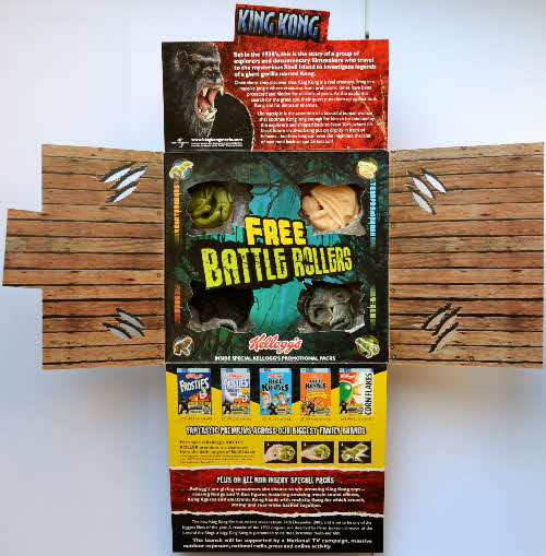 2005 Kelloggs Promotional King Kong Battle Rollers (2)