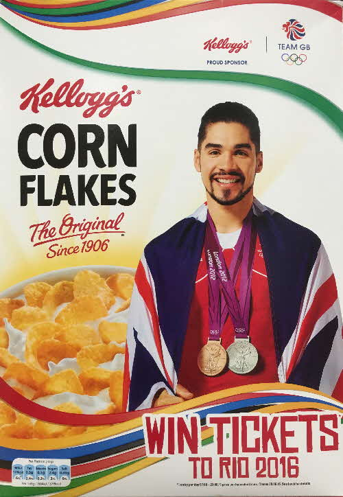 2016 Cornflakes Win Rio Olympic Tickets - Louis Smith (1)