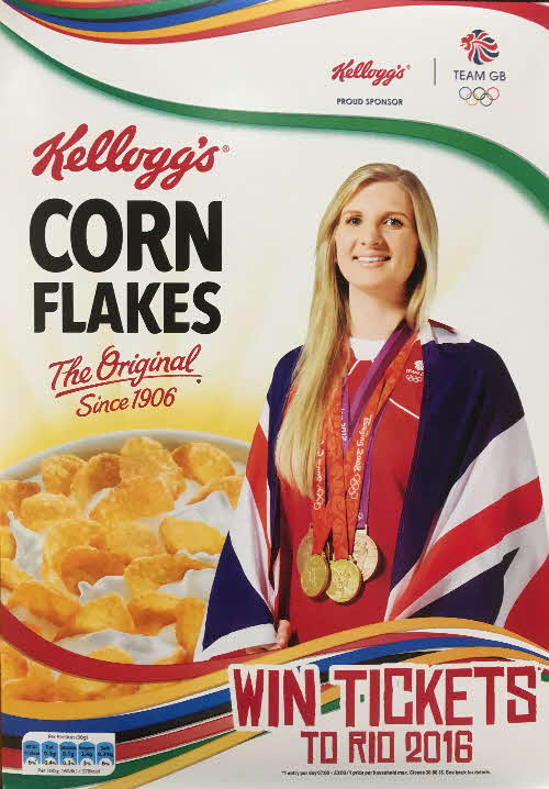 2016 Cornflakes Win Rio Olympic Tickets - Rebecca Adlington (1)