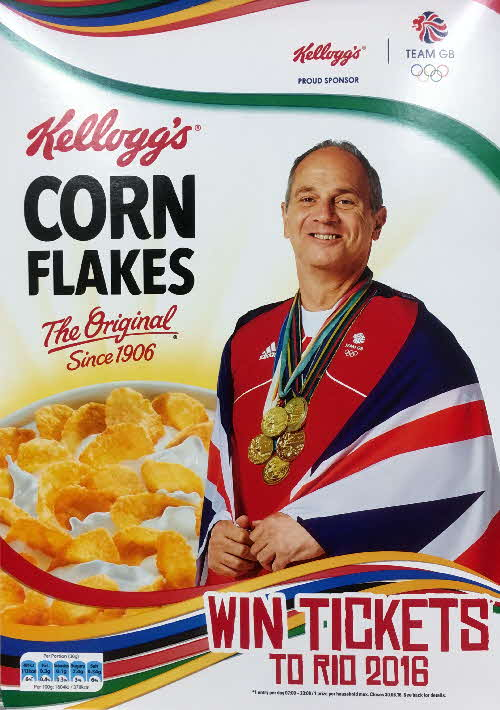 2016 Cornflakes Win Tickets Rio Olympics Steve Redgrave (1)