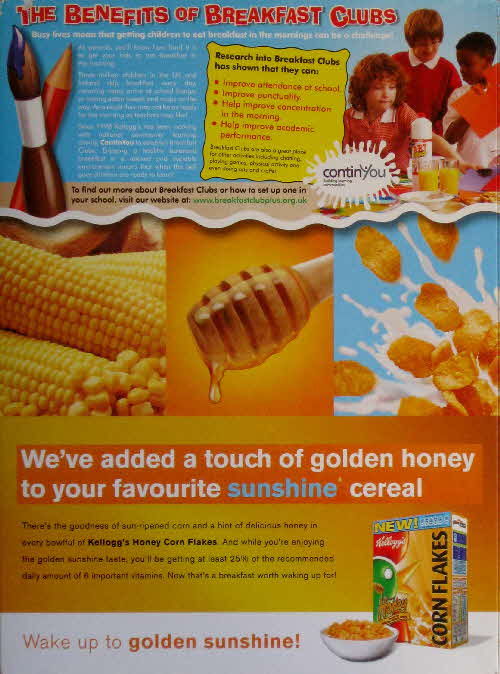 2006 Honey Cornflakes New