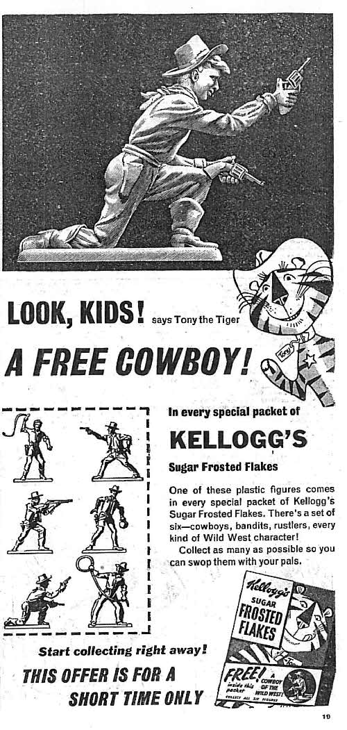 1957 Frosties Cowboys of Wild West 2