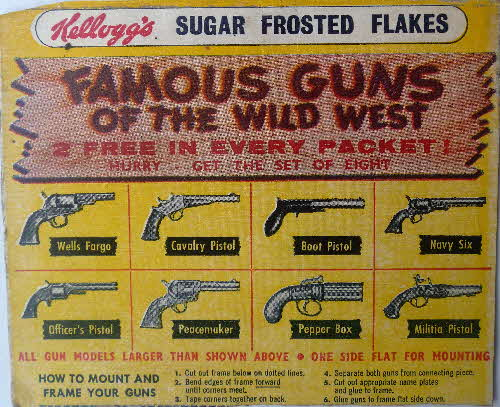 1957 Frosties Famous Guns of the Wild West1