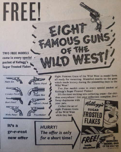 1957 Frosties Famous Guns of the Wild West2