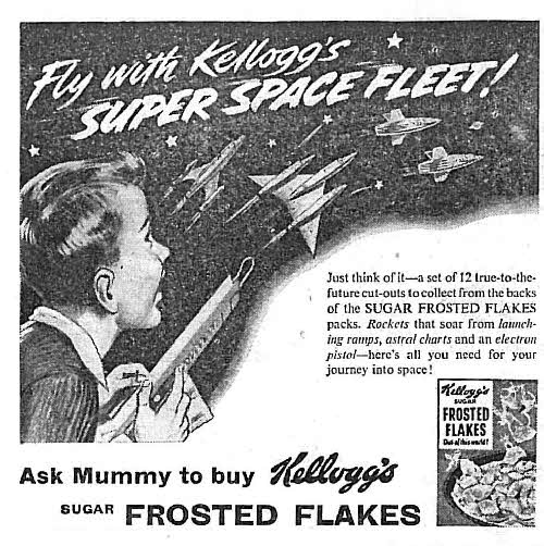 1955 Frosties Super Space Fleet