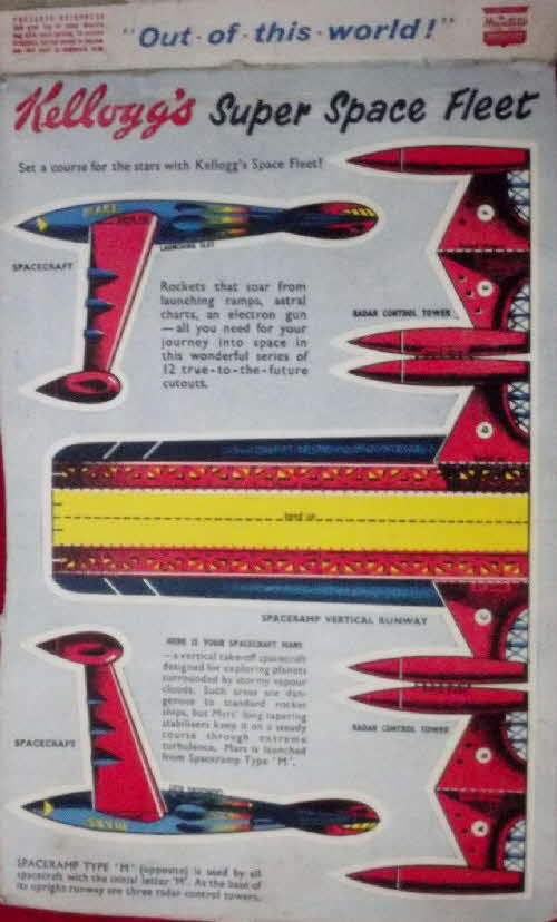 1955 Frosties Super Space Fleet1