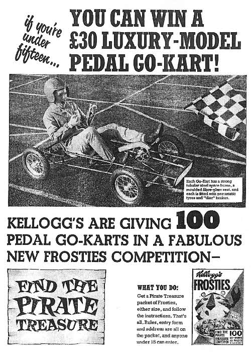 1965 Frosties Go-Kart Competition