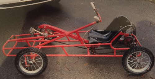 1965 Frosties Pirate Competition Go Kart Prize