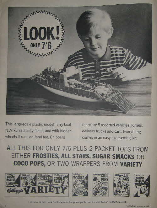 1965 Frosties Ferry Boat