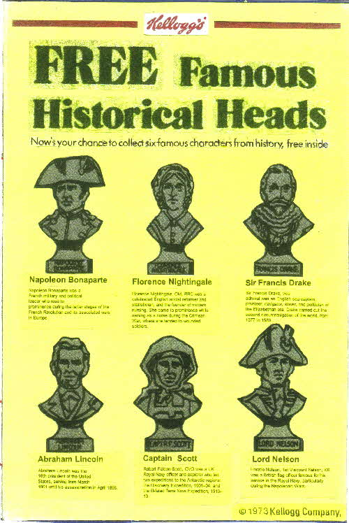 1973 Frosties Famous Heads (1)