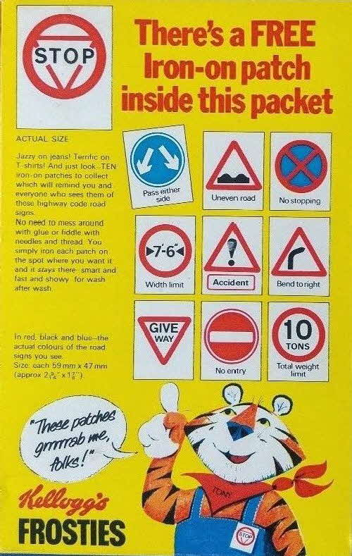 1978 Frosties Road Signs (2)