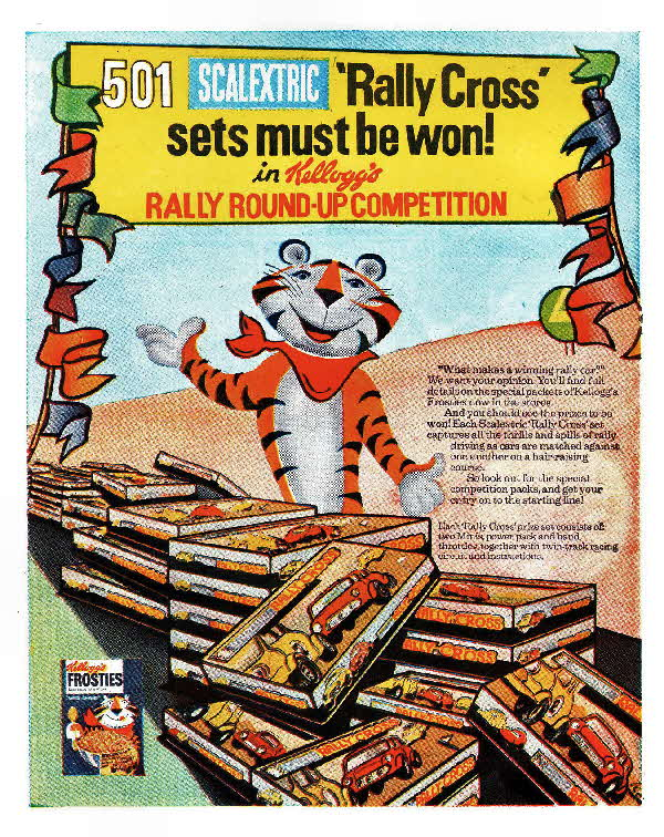 1974 Frosties Scaletrix Competition