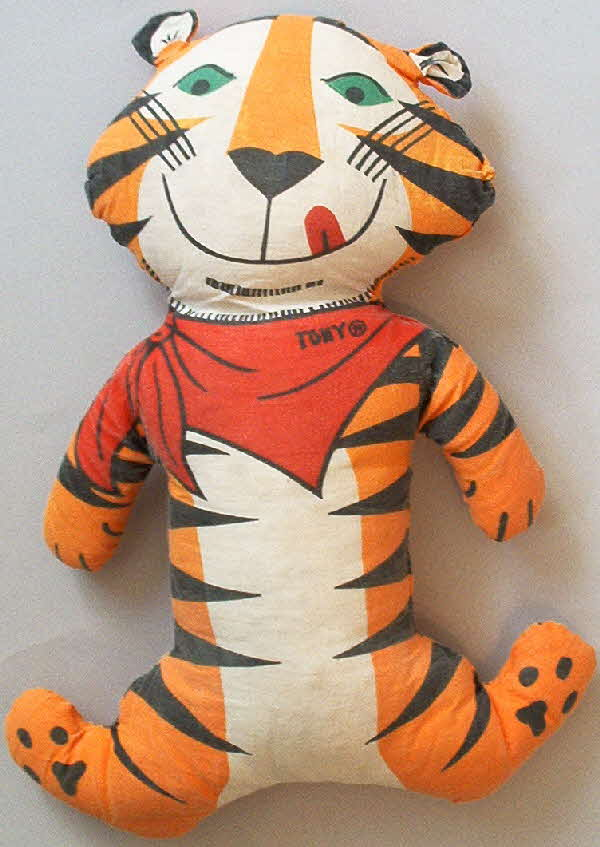 1970s Frosties Tony soft toy