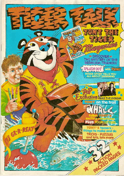 1987 Frosties Tiger Talk Magazine (2)