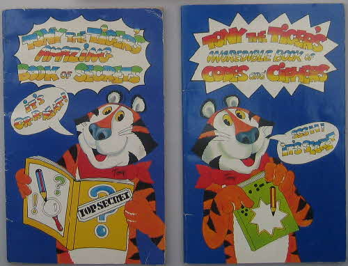 1986 Frosties Codes & Secrets Books1