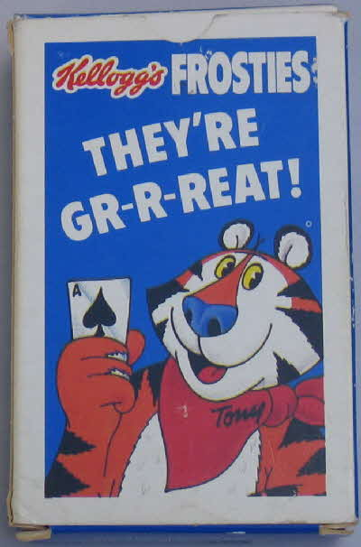 1987 Frosties Its a Pack of Fun Playing Cards