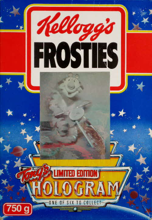 1989 Frosties Holograms front