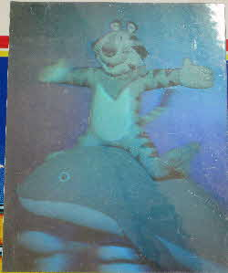 1989 Frosties Tony Tiger Holograms (2)