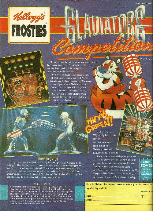 1994 Frosties Gladiators Competition