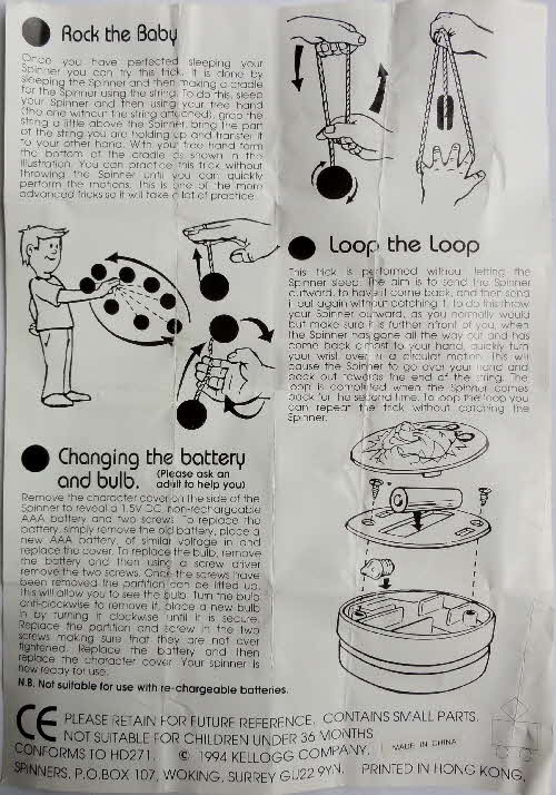 1994 Frosties Sonic Spinners instructions (3)